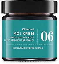 Парфюмерия и Козметика Крем с масло от пшеничен зародиш - Fitomed Cream With Wheat Germ Oil Nr6