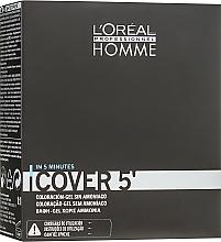 Парфюмерия и Козметика Гел оцветител за коса - L'Oreal Professionnel Cover 5