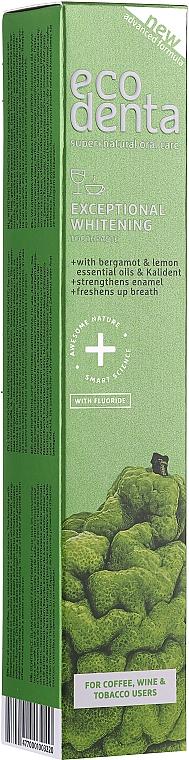 Избелваща паста за зъби с бергамот - Ecodenta Whitening Toothpaste