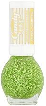 Парфюмерия и Козметика Брокатен лак за нокти - Miss Sporty Candy Shine Glitter Effect