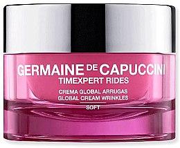 Парфюмерия и Козметика Крем против бръчки - Germaine de Capuccini TimExpert Rides Soft Global Cream Wrinkles