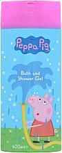 Парфюми, Парфюмерия, козметика Гел-пяна за баня - Kokomo Peppa Pig Bath and Shower Gel
