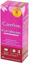 Парфюмерия и Козметика Ежедневни дамски превръзки, 20 бр - Carefree Plus Original Fresh Scent
