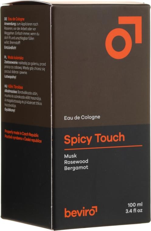 Beviro Spicy Touch Men's Only - Одеколон — снимка N1