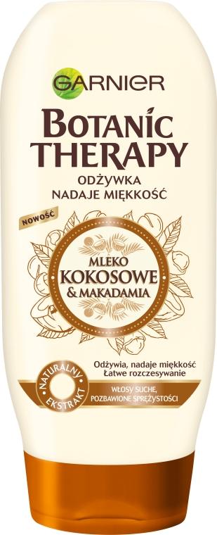Подхранващ балсам за коса - Garnier Botanic Therapy Coconut Milk & Makadamia Conditioner