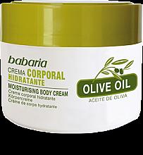 Парфюми, Парфюмерия, козметика Крем за тяло с 100% маслиново масло - Babaria Olive Oil Nourishing Body Cream