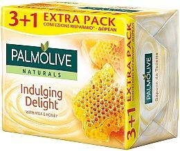 Парфюмерия и Козметика Сапун с мляко и мед - Palmolive Naturals Indulging Delulging Delight With Milk & Honey Soap