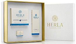 Парфюми, Парфюмерия, козметика Комплект за лице - Herla Hydra Plants I (крем/50ml + крем/5ml + серум/30ml)