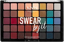 Парфюмерия и Козметика Палитра сенки за очи - NYX Professional Makeup Swear By It Shadow Palette
