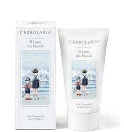 Детское очищающее молочко - L'erbolario Il Latte dei Piccoli Alla Camomilla & Alla Malva (мини) — снимка N1