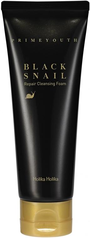 Почистваща пяна за лице - Holika Holika Prime Youth Black Snail Cleansing Foam