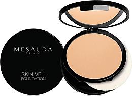 Парфюмерия и Козметика Дълготраен компактен фон дьо тен - Mesauda Milano Skin Veil Foundation