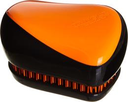 Парфюмерия и Козметика Компактна четка за коса - Tangle Teezer Compact Styler Neon Orange Brush