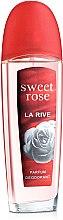 Парфюми, Парфюмерия, козметика Парфюмен дезодорант - La Rive Sweet Rose