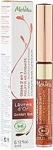 Парфюми, Парфюмерия, козметика Подхранващ гланц-балсам за устни 2в1 - Melvita L'Or Bio