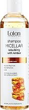 Парфюмерия и Козметика Мицеларен шампоан за коса с екстракт от кехлибар - Rebuilding Micellar Shampoo With Amber