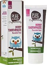"""Парфюми, Парфюмерия, козметика Детска паста за зъби """"Горски плодове"""" - Pure Beginnings Baby Berry Toothpaste"""