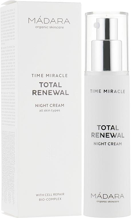 Нощен крем за лице - Madara Cosmetics Time Miracle Total Renewal — снимка N1