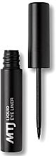 Парфюмерия и Козметика Очна линия - MTJ Cosmetics Liquid Eyeliner
