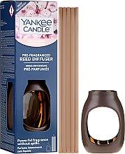 """Парфюми, Парфюмерия, козметика Арома дифузер """"Цъфтяща вишна"""" - Yankee Candle Cherry Blossom Pre-Fragranced Reed Diffuser"""