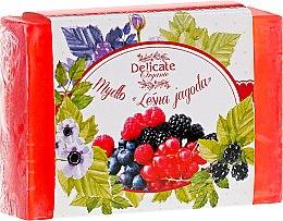 Парфюми, Парфюмерия, козметика Сапун с аромат на горски плодове - Delicate Organic Aroma Soap
