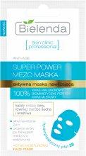 Парфюми, Парфюмерия, козметика Маска в хидропластична кърпичка - Bielenda Skin Clinic Professional Mezo Maska Anti-age