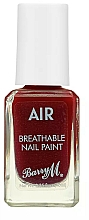 Парфюмерия и Козметика Лак за нокти - Barry M Air Breathable Nail Paint