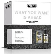 Парфюми, Парфюмерия, козметика Str8 Hero - Комплект (афтър. лосион/50ml + дезодорант/150ml)