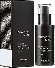 Парфюми, Парфюмерия, козметика Интензивен антистраеещ балсам за лице - Oriflame NovAge Men Intense Anti-Aging Face Gel Lotion