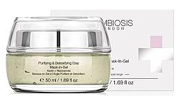 Парфюмерия и Козметика Почистваща детоксикираща гел маска за лице с глина - Symbiosis London Purifying & Detoxifying Clay Mask-In-Gel