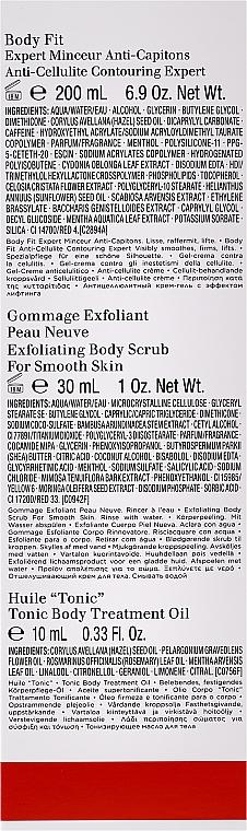 Комплект за тяло - Clarins (крем-гел/200ml+скраб/30ml+масло/10ml) — снимка N2