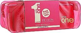 Парфюми, Парфюмерия, козметика Комплект - Revlon Professional Uniq One Hair Treatment (spray/150ml + bag)