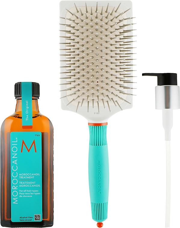 Комплект за коса - MoroccanOil (масло/100ml + четка) — снимка N1