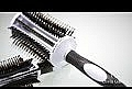 Брашинг четка за коса 35 mm - Olivia Garden Thermo Active Ionic Boar Combo Brush 35 — снимка N1