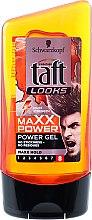 Парфюми, Парфюмерия, козметика Заглаждащ гел за коса - Schwarzkopf Taft Looks Maxx Power Gel