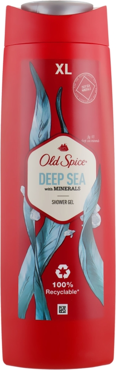 Душ гел - Old Spice Deep Sea With Minerals Shower Gel