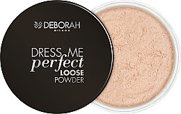 Парфюми, Парфюмерия, козметика Пудра за лице - Deborah Dress Me Perfect Loose Powder
