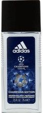 Парфюми, Парфюмерия, козметика Adidas UEFA Champions League Champions Edition - Парфюмен дезодорант