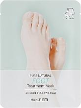 Парфюмерия и Козметика Маска за крака - The Saem Pure Natural Foot Treatment Mask
