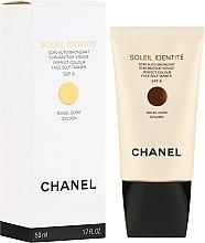 Парфюмерия и Козметика Крем автобронзант - Chanel Soleil Identite SPF 8 Dore Golden