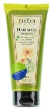 Парфюмерия и Козметика Подхранваща маска за коса с растителни екстракти и пантенол - Melica Organic Nourishing Hair Mask