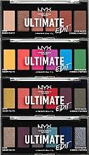 Парфюмерия и Козметика Палитра сенки за очи - NYX Professional Makeup Ultimate Edit Petite Shadow Palette