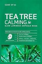 Парфюмерия и Козметика Успокояваща маска с чаено дърво - Some By Mi Tea Tree Calming Glow Luminous Ampoule Mask