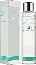 Парфюмерия и Козметика Тоник за лице - Mizon AHA & BHA Daily Clean Toner