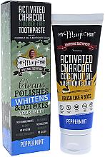 Парфюмерия и Козметика Избелваща паста за зъби с активен въглен - My Magic Mud Activated Charcoal Toothpaste