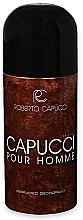 Парфюми, Парфюмерия, козметика Roberto Capucci Capucci Pour Homme - Спрей дезодорант
