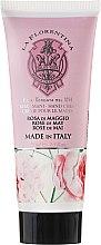 """Парфюми, Парфюмерия, козметика Крем за ръце """"Майска роза"""" - La Florentina Rose Of May Hand Cream"""