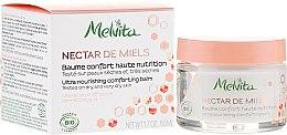 Парфюмерия и Козметика Подхранващ балсам за лице - Melvita Nectar de Miels Baume Confort Haute Nutrition