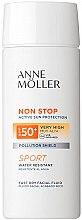 Парфюмерия и Козметика Слънцезащитен флуид за лице - Anne Moller Non Stop Facial Fluid SPF50+