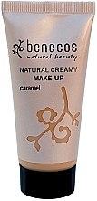 Парфюмерия и Козметика Benecos Natural Creamy Foundation Make-Up - Фон дьо ден